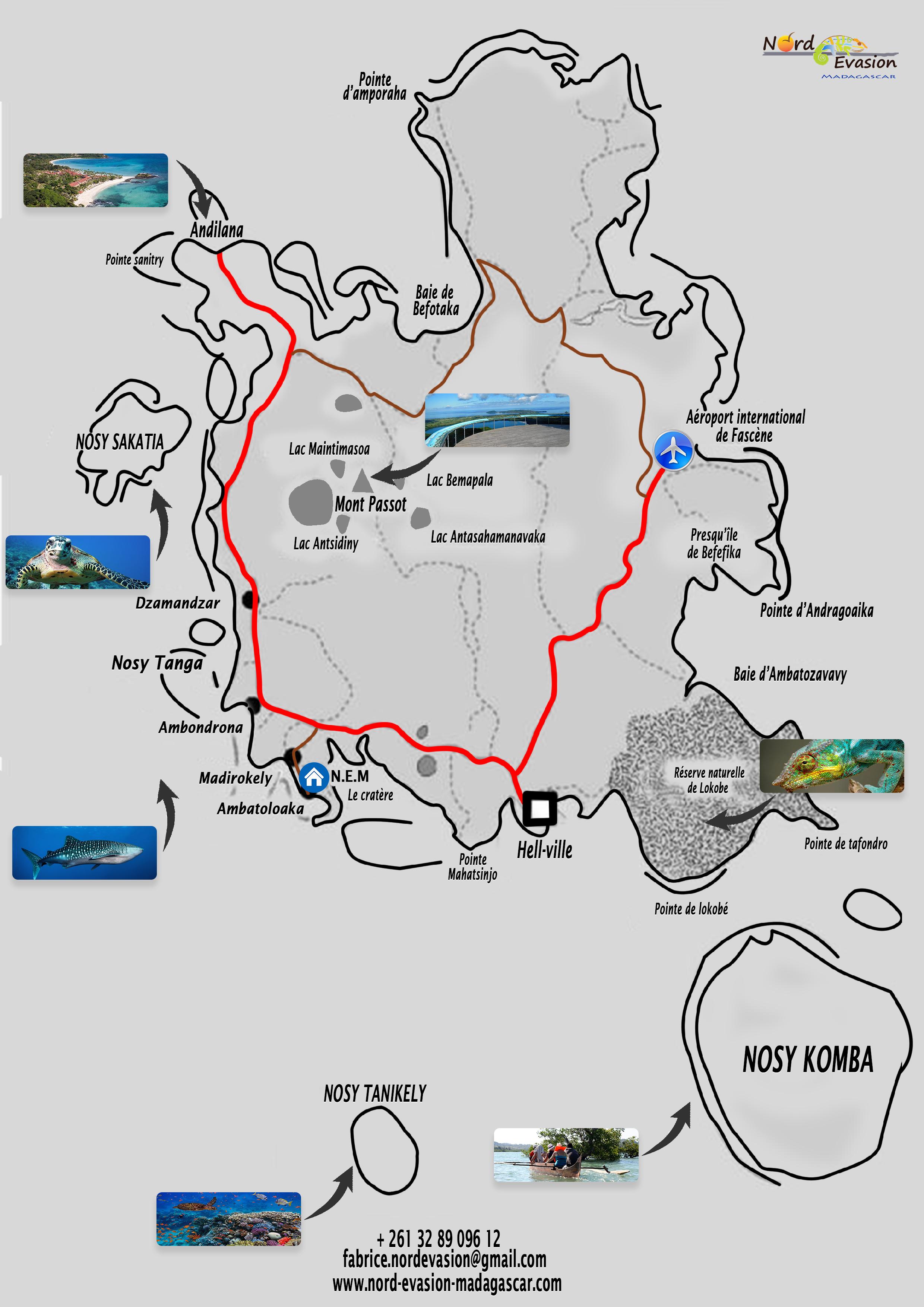 Carte Madagascar Nocibe.Histoire De Nosy Be Nord Evasion Madagascar